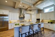 Mediterranean Style House Plan - 3 Beds 3 Baths 2779 Sq/Ft Plan #930-480 Interior - Kitchen