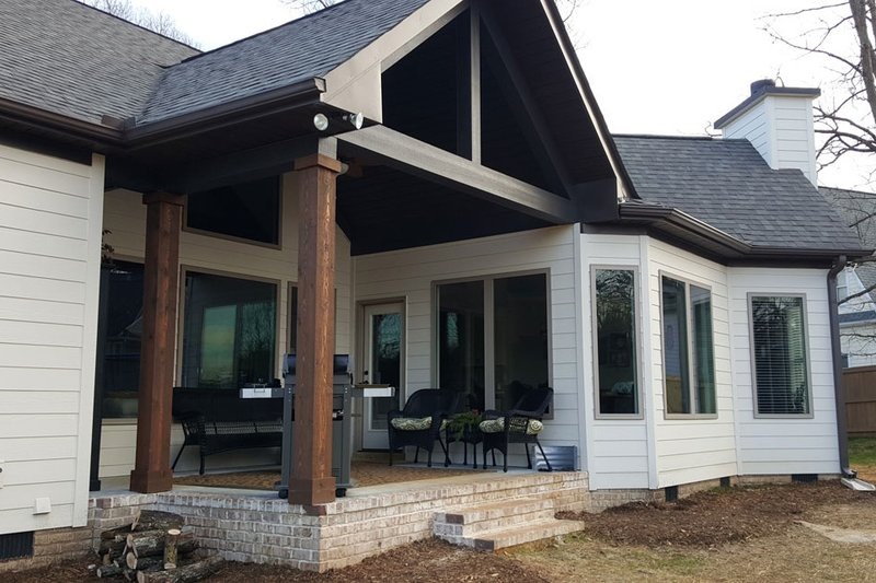 Craftsman Exterior - Other Elevation Plan #119-369 - Houseplans.com