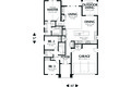 Craftsman Style House Plan - 3 Beds 2 Baths 1529 Sq/Ft Plan #48-598 Floor Plan - Main Floor Plan