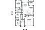 Craftsman style Plan 48-598 main floor