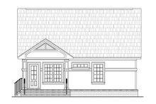 House Design - Cottage Exterior - Rear Elevation Plan #21-222