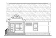 Home Plan - Cottage Exterior - Rear Elevation Plan #21-222