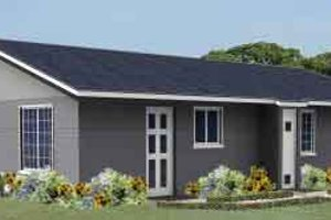 Contemporary Exterior - Front Elevation Plan #1-986