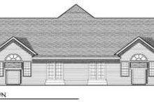 Traditional Exterior - Rear Elevation Plan #70-748