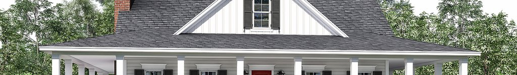 House Plan Designs with Wrap Around Porch & Open Floor Plan