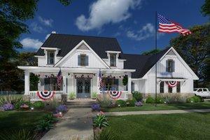 Farmhouse Exterior - Other Elevation Plan #120-272