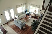 Southern Style House Plan - 2 Beds 2 Baths 1480 Sq/Ft Plan #23-2038 Interior - Family Room