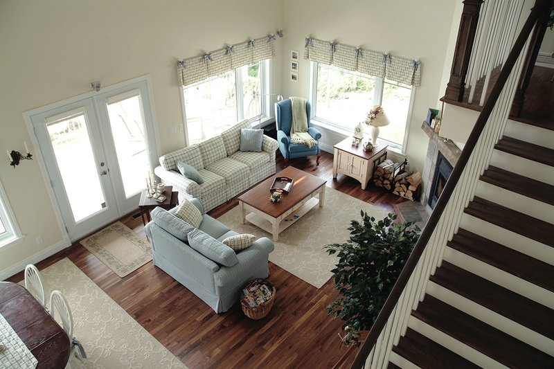 Southern Interior - Family Room Plan #23-2038 - Houseplans.com