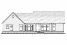 Home Plan - Craftsman Exterior - Rear Elevation Plan #21-303