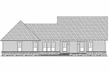 House Plan Design - Craftsman Exterior - Rear Elevation Plan #21-248