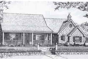 Traditional Exterior - Front Elevation Plan #310-929
