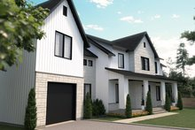 Home Plan - Farmhouse Exterior - Front Elevation Plan #23-2742