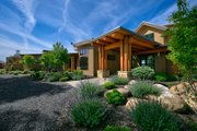 Contemporary Style House Plan - 3 Beds 3.5 Baths 4036 Sq/Ft Plan #892-20 Exterior - Front Elevation