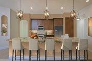 Mediterranean Style House Plan - 4 Beds 3 Baths 2953 Sq/Ft Plan #938-90 Interior - Kitchen