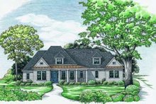 Dream House Plan - Traditional Exterior - Front Elevation Plan #20-684