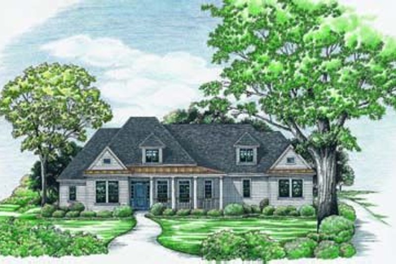Traditional Exterior - Front Elevation Plan #20-684