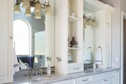 European Style House Plan - 4 Beds 4.5 Baths 4455 Sq/Ft Plan #48-650 Interior - Master Bathroom