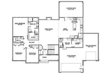 Traditional Floor Plan - Main Floor Plan Plan #1073-12