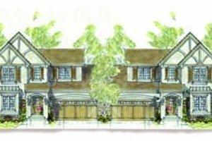 Cottage Exterior - Front Elevation Plan #20-1344