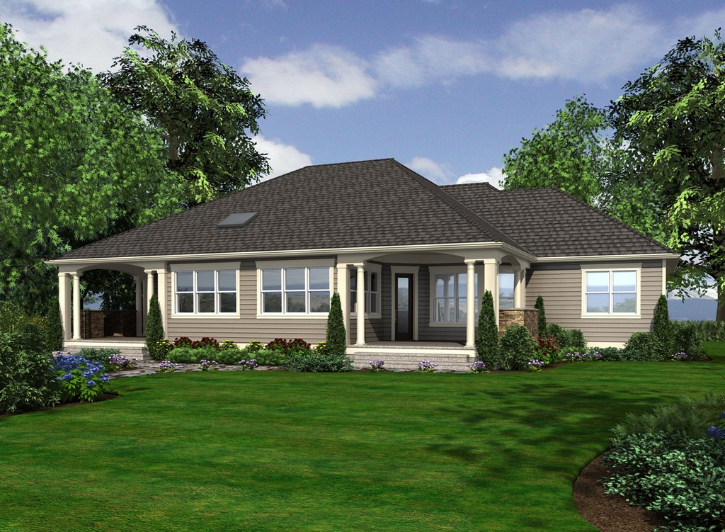 Country style house plan 3 beds 2 5 baths 2820 sq ft for Weinmaster house plans