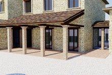 Home Plan - European Exterior - Covered Porch Plan #542-9