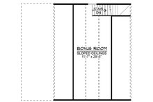 Craftsman Floor Plan - Other Floor Plan Plan #1064-16