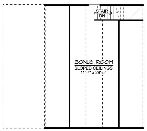 Craftsman Floor Plan - Other Floor Plan Plan #1064-16