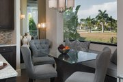 Contemporary Style House Plan - 3 Beds 4 Baths 3507 Sq/Ft Plan #930-20 Interior - Dining Room