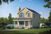 Victorian Style House Plan - 3 Beds 2.5 Baths 1197 Sq/Ft Plan #20-2469