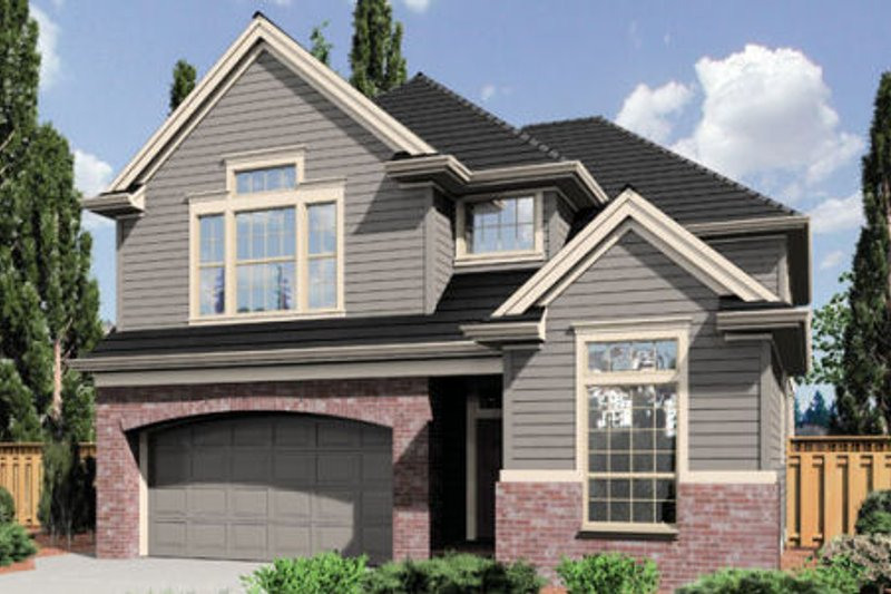 Traditional Exterior - Front Elevation Plan #48-394