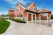 Craftsman Style House Plan - 4 Beds 6.5 Baths 4491 Sq/Ft Plan #928-321 Exterior - Other Elevation