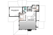 Traditional Style House Plan - 2 Beds 2.5 Baths 2111 Sq/Ft Plan #23-250 Floor Plan - Upper Floor Plan