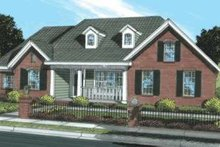 Dream House Plan - Traditional Exterior - Front Elevation Plan #20-1874
