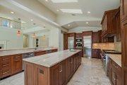 Mediterranean Style House Plan - 4 Beds 4.5 Baths 4513 Sq/Ft Plan #548-14 Interior - Kitchen