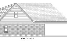 Country Exterior - Rear Elevation Plan #932-263