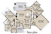 Country Style House Plan - 3 Beds 2.5 Baths 2352 Sq/Ft Plan #120-192 Floor Plan - Main Floor Plan