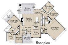 Country Floor Plan - Main Floor Plan Plan #120-192