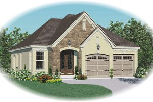 Traditional Exterior - Front Elevation Plan #81-13664