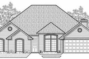 Traditional Exterior - Front Elevation Plan #65-109