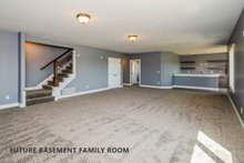 Home Plan Design - Future Basement Family Room