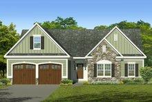 House Plan Design - Ranch Exterior - Front Elevation Plan #1010-239