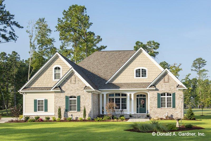House Plan Design - Craftsman Exterior - Front Elevation Plan #929-824