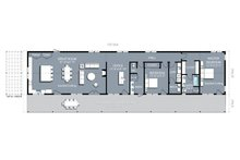 Ranch Floor Plan - Main Floor Plan Plan #888-2