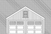 Country Style House Plan - 0 Beds 0 Baths 1 Sq/Ft Plan #477-1 Exterior - Other Elevation