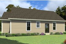 Farmhouse Exterior - Rear Elevation Plan #63-419