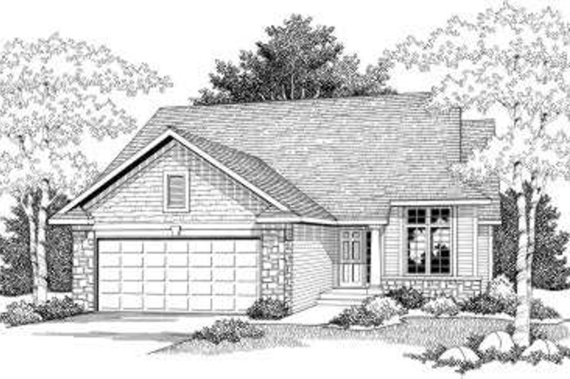 Traditional Exterior - Front Elevation Plan #70-591
