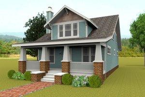 Craftsman Exterior - Front Elevation Plan #461-47