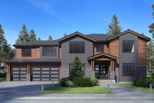 Home Plan - Traditional Exterior - Front Elevation Plan #1066-75