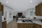 Traditional Style House Plan - 3 Beds 2.5 Baths 2199 Sq/Ft Plan #1060-100 Interior - Kitchen