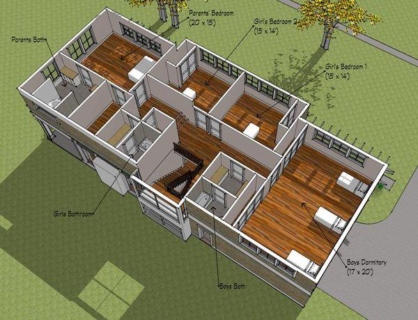 Prairie Floor Plan - Other Floor Plan Plan #481-3